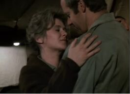 MASH Episode 5x18 - Hanky Panky - BJ and Nurse Donovan