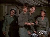 Nurses in mess tent-chosen people
