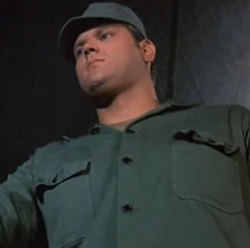 Sgt. Flacker in Requiem for a Lightweight - MASH