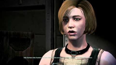 Mass Effect 3 Kelly Chambers Romance