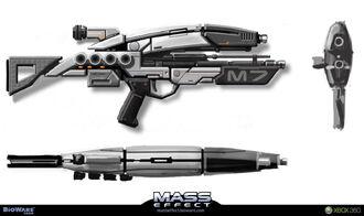 Assault Rifle Concept Art