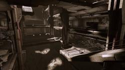 Old blood - hospital atrium shot