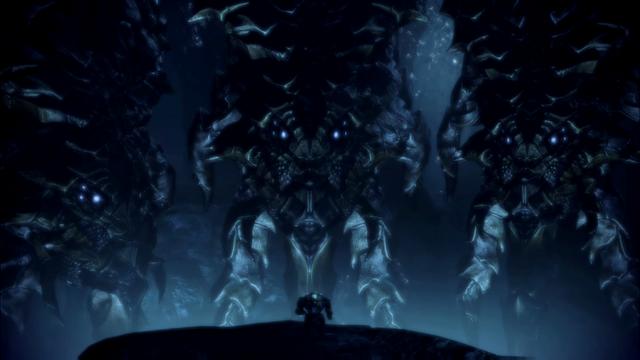 File:ME3 Shepard three Leviathans.png