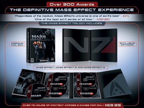 Contenidos de Mass Effect Trilogy