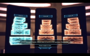 Noveria-Mira core activation mini-game