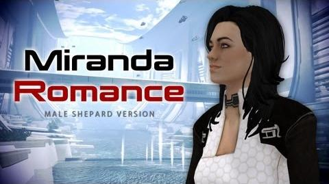 Miranda Lawson Romance (Mass Effect 3 Citadel DLC)