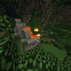 Jungle volcano