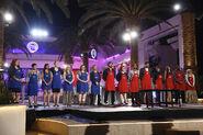 Blue & Red teams casino Las Vegas