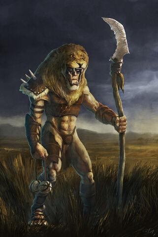 File:Lion Man by Gaius31duke.jpg