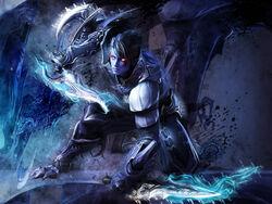 Dark Assassin Aion render by Erraiart