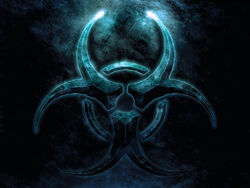 Biohazard-blue-logo-symbol