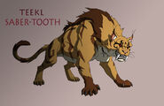 Young justice teekl werecat by jerome k moore-d4y3wzx