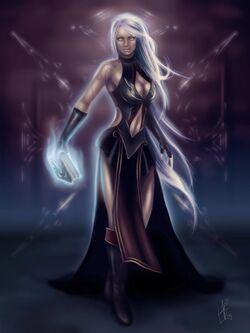 Asmodian Sorceress by Anathematixs