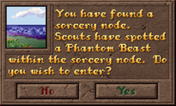 Encounter SorceryNode Dialog