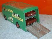 Racing Car Transporter (Two Racing Cars)