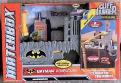 2012 MATCHBOX BATMAN ADVENTURE CLIFF HANGER PLAYSET