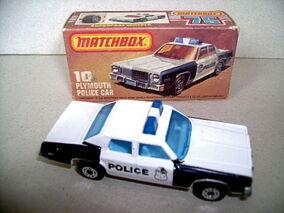 Plymouth Police Car (1979-81)