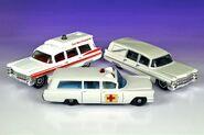 3 Different 1963 Cadillacs - 5284df