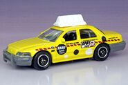 Matchbox '06 Crown Victoria Taxi - 1281ef
