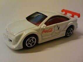 Coca Cola Opel Calibra white