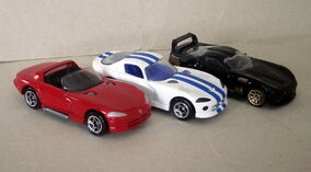 Dodge Viper (3 Variations)