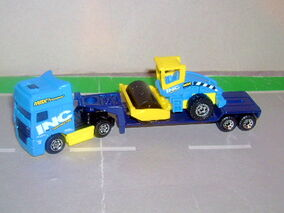 DAF-Road Roller transporter