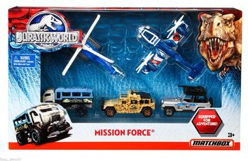 Jurassic World MISSION FORCE