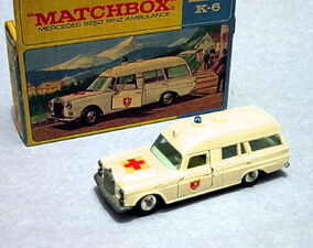 Mercede-Benz Binz Ambulance (King Size)