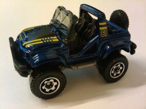Cliff Hanger blue