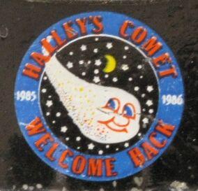 Halley's Comet Hood Emblem 20120707 JSCC