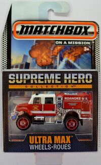 SUPREME HERO International Workstar Brush Fire Truck