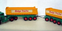 Dodge Tractor with Fruehauf Tippers (K-16)