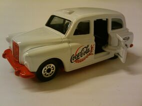 Coca Cola London Taxi