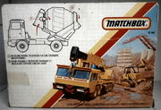 Bedord Cement Truck (BOX Rear)