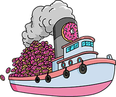 File:Boatload of 2400 Donuts.png