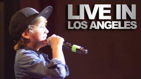 MattyB LIVE at Club Nokia - Gentleman