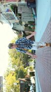 MattyB wearing Timberland Boots