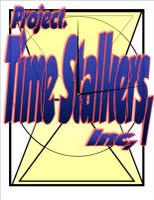 Project Time Stalkers,Inc1.logo patch hour glass clockalternate