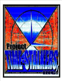 Project;Time Stalkers,Inc logo earth 1982