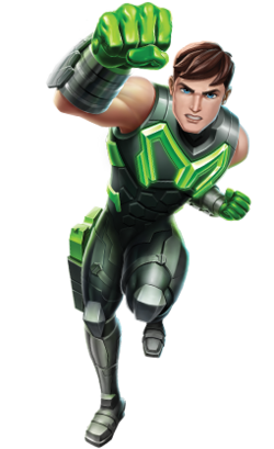 Older Max Steel Green