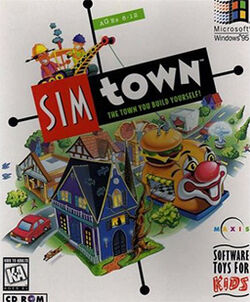 SimTown Coverart