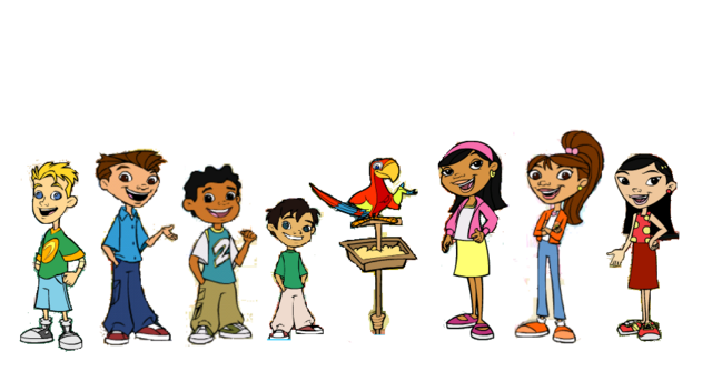 File:Maya and Miguel Characters2 (with Paco).png