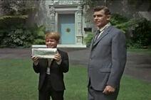 Opie holding Cesar Romero paper