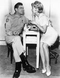 Andy Griffith Barbara Eden behind scenese