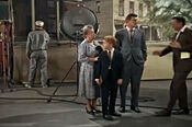 On soundstage of mayberry set