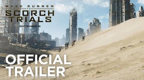 Maze Runner The Scorch Trials Trailer
