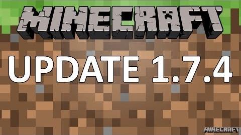 Minecraft 1.7.4 Update-1