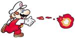Fire Mario - Artwork