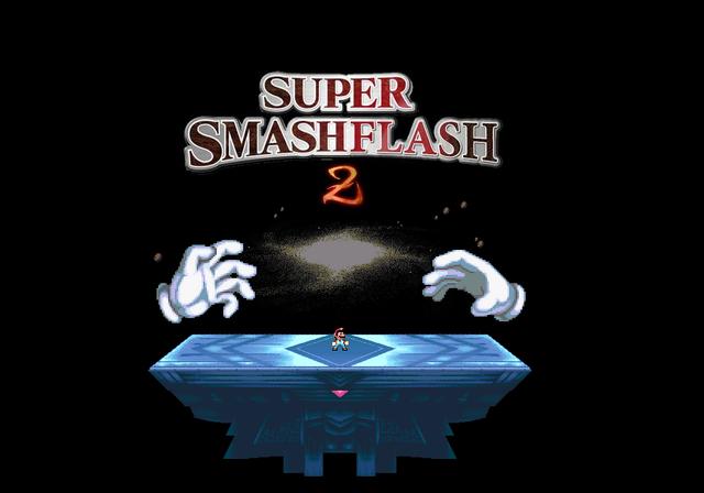 File:Super Smash Flash 2 Mario vs Hands.png