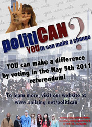 Politican flyer
